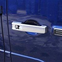 Poignée de porte Styling voiture cadre Stickers décoratifs de finition pour Mercedes Benz Classe G G63 2019 2020 Extérieur Doorknob modification