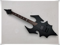 Factory custom Bat body Electric guitar, with Black Hardware,...