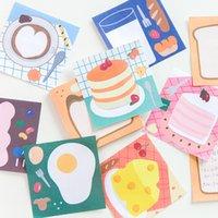 50 Blatt Netter Energie Food Series Memo Pad-Planer Täglich Notepad Sticky Notes Schulmaterial Briefpapier