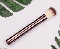 Dropshipping Fundação de ampulheta / blush pincel de maquiagem # 2 tamanho completo contorno bronzeado escovas cosméticas cerdas sintéticas