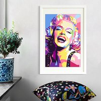 Canvas Painting Wall Posters and Prints Classic Actress HD Wall Art Pictures For Living Room Decoration Dining Restaurant Hotel Home Decor