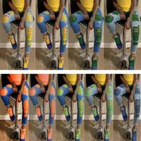 Frauen Art und Weise Loch Jeans Designer dünne sexy voller Länge dünne Denimhose Leggings Vintage-Street Hose zerrissen plus Größe Kleidung