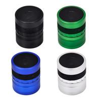 El nuevo diámetro de 62mm Grinder gama alta de Bluetooth estéreo Mill detectores de humo Recreación Choice para Bluetooth amoladora para Fumadores