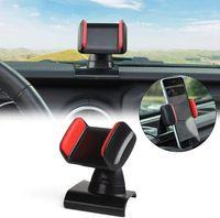 ABS السيارات مركز وحدة التحكم حامل الهاتف المحمول للحصول على جبل جيب رانجلر JL JT 2018+ زينة الداخلية السيارات