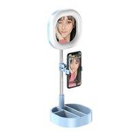 الهاتف الخليوي Y3 LED حلقة الضوء 5W-15W 3500-6000K 3 لون الصور الشخصية للحلقة مصباح الإضاءة التصوير الجمال حية مع ترايبود المشبك قياسي