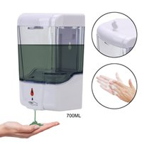Automatic Liquid Soap Dispenser 700ml Wall Mounted Dispensers Touchless Sensor Infrared Soap Dispenser for Bathroom CCA12390 30pcs