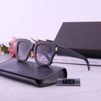 أحدث تصميم النظارات الشمسية مربع فريدة من 184 عارضات الأزياء لعام 2020 هو مناسب لكل من الرجال والنساء مع كامل المستوردة سميكة
