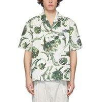 Vacaciones calientes nueva 20SS mujeres de los hombres de la vendimia Impreso Tee Beach Holiday moda de la calle de viajes verano de la camiseta de manga corta transpirable