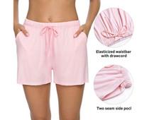 Mode Neue Womens Shorts Sport Laufen Freizeit Yoga Training Pyjama Team Strand Hosen Schlaf Hosen Größe S-XL