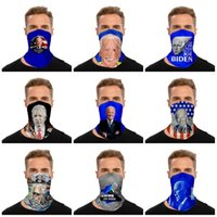 New fashion US presidential campaign Biden face mask sports outdoor multi functional magic scarf for men and women Party Masks SS51219