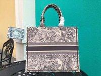 Neue Luxusmode Shopping Designer Totes Frauen Tasche Dessinger Handtasche Klassische große WPGBF Bunte Blumen 2021 Handtaschen Handba HFVSS
