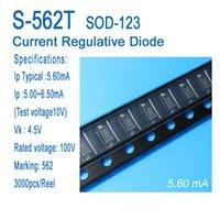 Постоянный ток диода, ток регулятивный диод, CRD, S-562T, типичный 5.6ma, SOD-123, SMD.applied на светодиодное освещение, светодиодные лампы