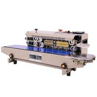 770A 2020 Sürekli Otomatik Isı Kapama Makinesi Bileşik Film Çanta Bant Sealer ile Konveyör Band 220V