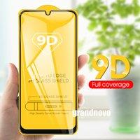 9D completa Pegamento templado guardia de pantalla de cristal protector de la película para MOTO Una fusión G9 Plus G8 Poder Lite G Fast Stylus Power Pro P50 E7 E5 Juego GO