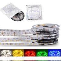500m RGB LED-strips SMD 5050 5M 300 LED's Waterdichte IP65 LED Flexibele Strips Licht DC 12V met 3M Plakband