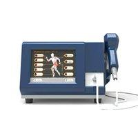 2020 Портативный ударная волна боли Удаление Пневматическая Shockwave терапия машина Shockwave безболезненное всего тела Оборудование для салонов красоты