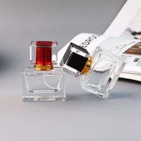 Toptan 30ml Dikdörtgen Parfüm 5 Renk Atomizer Parfüm Şişesi LX2508 ile Pompası Glass'ın 30ml Boş Parfüm Şişeleri Spray