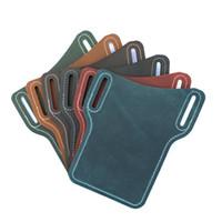 عارضة حزام الخصر حامل الهاتف المحمول خمر حقيقية الحقيبة الجلدية حالة المحفظة حقيبة لمدة 5 6 هواتف بوصة
