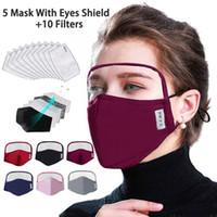 Мода Респиратор Kids Face-маска для защиты росток взрослых с фильтром хлопка рот Face Maskswashable и многоразовые Maskking