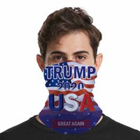 2020 Trump Face Mask Washable American Election Printing Dustproof Masks Outdoor Cycling Magic Scarves Designer Party Masks CYZ2570 60Pcs