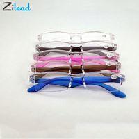 Zilead mujeres de los hombres de Corea del claro de la manera plástica Eyewears ligero ultraligero gafas de presbicia dioptrías lupa de los vidrios de lectura