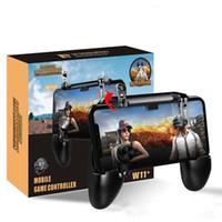 안드로이드 삼성 등 범용 스마트 폰에 대한 W11 + PUBG 모바일 게임 패드 컨트롤러 PUBG 무선 조이스틱 게임 슈팅 게임 컨트롤러