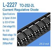 CRD ток диод регулятивной L-2227, L-2733, L-3339, ТО-252-2L Применение к светодиодной люминесцентной лампе, свет светодиодных ламп, светодиодная небольшие продукты питания
