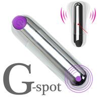 Leistungsstarke 10-fach-Kugel-Vibrator-Sexspielzeug für Frauen starke Vibrationen G-Spot-Massagegerät Mini-Vibratoren für Frauen USB-Gebühr