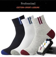 New Fashion High Quality Autumn Winter Men Sport Socks Cotto...