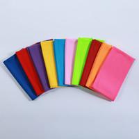 Szybkie chłodzenie Ręcznik Sportowy Zimny Czujnik Wipe Multi Colors Wash Cloth Siłownia Joga Wyczyść Pole Ręczniki Gorąca Sprzedaż 1 1ZH L2