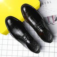 El yapımı İtalyan Tarzı Retro Ayakkabı Erkekler Deri Elbise Örgün İş Oxfords erkek Parti Ayakkabı Büyük Boy 38-48