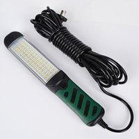 Lanternes portables Brochet magnétique puissant LED Inspection Light Auto Repair Lampe Lampe de travail Super Bright Tool Drop Résistant