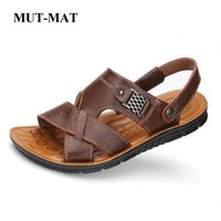 2019 New Summer Genuine Leather Men' s Casual Sandals Cl...