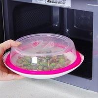 스택 냉장고 전자 레인지 볼 커버 다목적 씰링 커버 DH0039에 대한 커버 특수 난방 및 튄 가드 신선한-유지