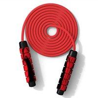Sauter Ropes Formation adulte Sports Fitness Skip Rope Eponge Port Poignée en plastique Articles de sport