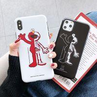 Cep Telefonu Kılıf İçin iPhone11 Pro Xs Max Xr 8 7 7Plus IMD Soft TPU Cep Telefonu Shell İçin Elma iphone 6 6s Arka Kapak