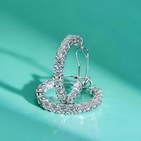 Damenluxusmode-Designer Schmuck Ohrringe Delicate Sterling Sliver Huggie Band-Ohrringe für Frauen Schmuck Geschenke