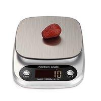 Цифровые кухонные весы Многофункциональные Питание Вес весы выпечки варя весы с ЖК-дисплеем 5 кг / 0.1г 10кг / 1g JK2005KD