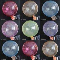 NS cristallo Bobo sfera multicolore palloncino decorazione Wedding decorative brillante palloncini di colore di 18 pollici colorati palloncini gonfiabili Cancella 2019