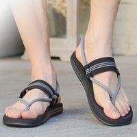 Sandalet Flip Flop Erkekler Ve Kadınlar Kişilik İki-Aşınma Ayakkabı Yaz Gelgit Marka Çift Plaj Rahat Kaymaz Klip Ayak