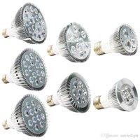 디 밍이 가능한 LED 전구 PAR38 PAR30 PAR20 85-240V 9W 10W 14W 18W 24W 30W E27 LED 조명 스팟 램프 빛을 통