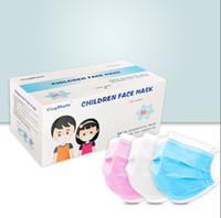 أقنعة DHL شحن مجاني المتاح للأطفال حماية الصحة الشخصية قناع 3-طبقة أقنعة للأطفال قابلة لإعادة الاستخدام الوجه تغطية حلقة الأذن الفم الصحية