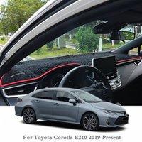 سيارة التصميم لوحة تجنب ضوء الوسادة صك منصة الغلاف مات روز للكورولا 2019 E210 2020 LHDRHD مكافحة الغبار حصيرة ubGA #