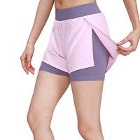 New Ladies Outdoor Sport Gym Yoga pantalons courts Cyclisme Course à pied Escalade Fitness Training Shorts Femmes jogging athlétique Pantacourt