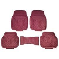 alfombra del piso ZH-011 del coche aplicable para la mayoría de los modelos de coches al agua y al polvo Impreso con 5pcs cuencas de pequeño tamaño en