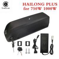 48V 15AH Хайлун плюс Ebike батареи аккумуляторные батареи лития электрический велосипед 48 вольт для Bafang 1000W двигателя с зарядным устройством