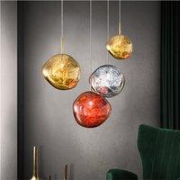 Moderna TD Melt Ciondolo Sospensioni lampada LED lampadario luce di soffitto soggiorno sala da pranzo PA0219 letto Illuminazione