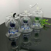 nuova Europa e l'acqua del tubo Americaglass pipe bubbler fumatori Bong bottiglia di acqua di vetro con la grande pancia filtrazione sfera di colore
