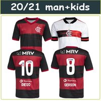 20 21 CR Flamenco maglie calcio 2020 fiammingo GUERRERO DIEGO GABRIEL Vinicio Flamengo B Uomini Football Shirt Custom Made bambini Donne