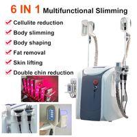 Fat congelamento macchina di dimagrimento cavitazione ultrasonica laser grasso rf riduzione lipo per il dimagrimento 3 teste di congelamento possono lavorare insieme